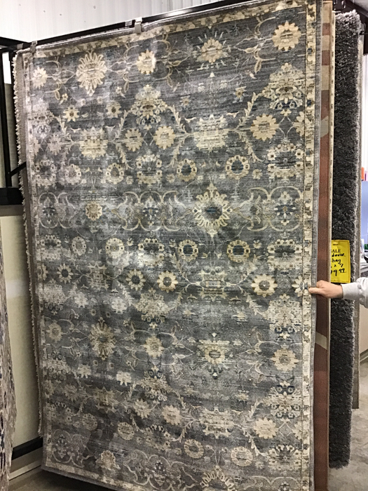 Dromore Gray 5x8 rug - @ARFurnitureMart