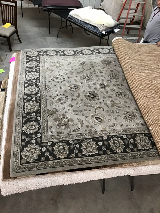 Safavids wool 8x10 rug - @ARFurnitureMart