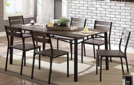 Fresno Rustic Table With Chairs
