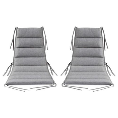 Gray Lounge Chair Cushions Patio Furniture by Dwell
