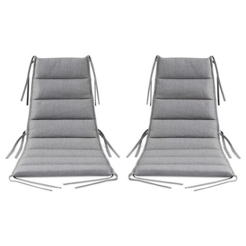 Gray Lounge Chair Cushions Patio Furniture by Dwell - @ARFurnitureMart