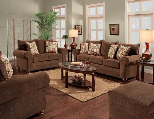 Grayton Mink Sofa and Loveseat - @ARFurnitureMart