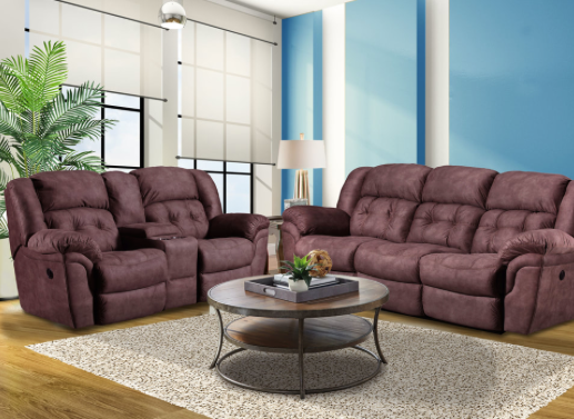 Washington Chocolate Reclining Sofa - @ARFurnitureMart