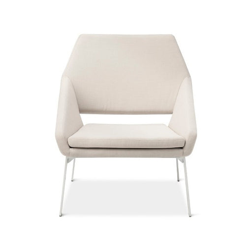 Patio Lounge Chair White/Natural Dwell Magazine - @ARFurnitureMart