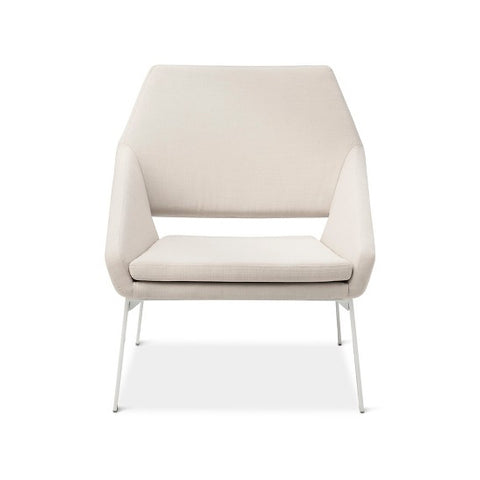 Patio Lounge Chair White/Natural Dwell Magazine