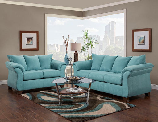Sensations Microfiber Sofa and Loveseat, Capri - @ARFurnitureMart