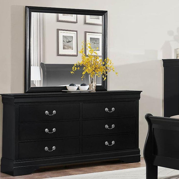 Sleigh Bed, Bedroom Set, Black | Quality Furniture @ Discount Prices ...