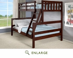 Austin Twin over Full Bunk Bed - @ARFurnitureMart