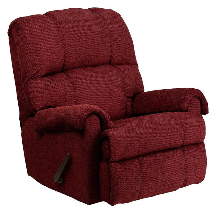 Tahoe Burgundy Recliner - @ARFurnitureMart