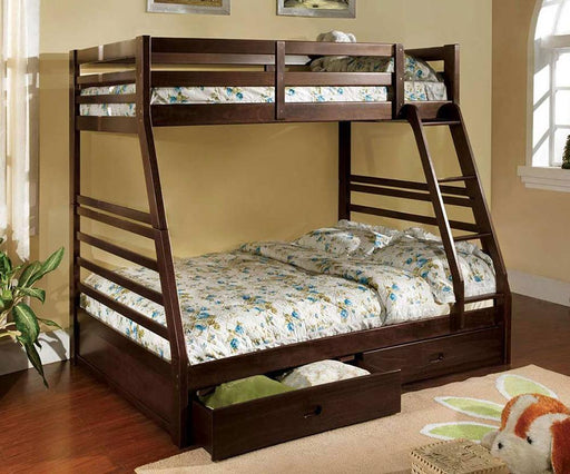 Twin/Full Bunkbed with Drawers - @ARFurnitureMart