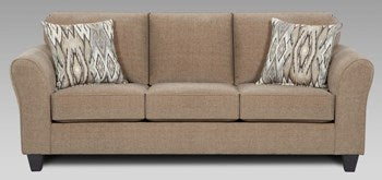 Chic Mocha Sofa - @ARFurnitureMart