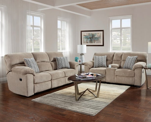 Chevron Seal Reclining Sofa - @ARFurnitureMart