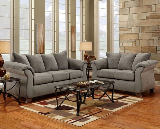 Sensations Grey Sofa - @ARFurnitureMart