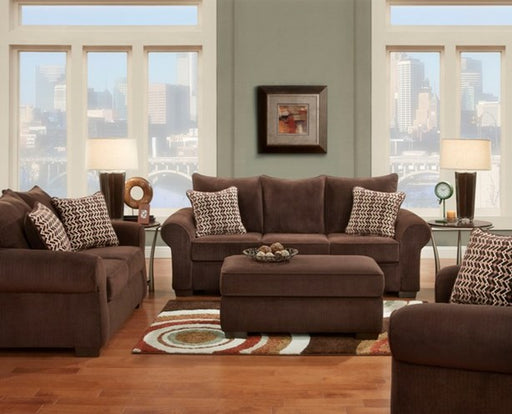 Chevron Mink Couch and Love Seat - @ARFurnitureMart