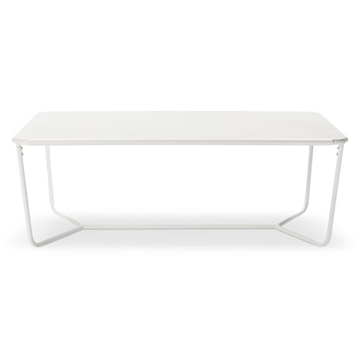 White Outdoor Coffee Table Modern Patio By Dwell Magazine