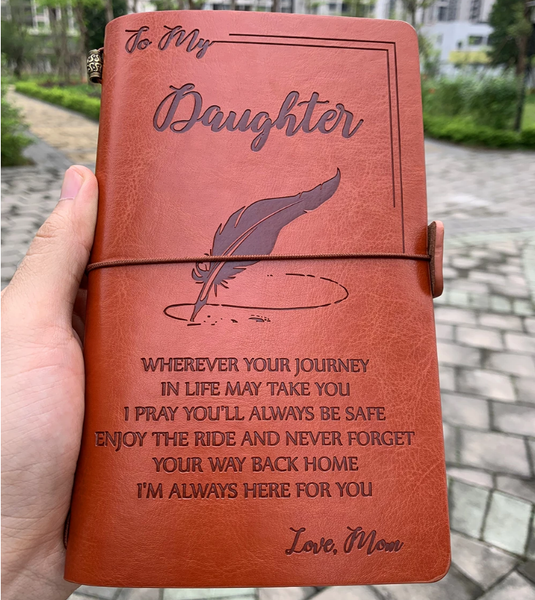 To My Daughter - Vintage Journal (From Mom)