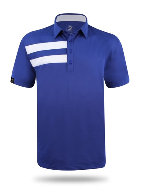 FLAGSHIP POLO-BLUE - 2GG Apparel