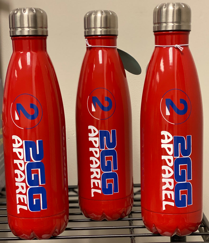 2GG Logo Water Bottles - 2GG Apparel