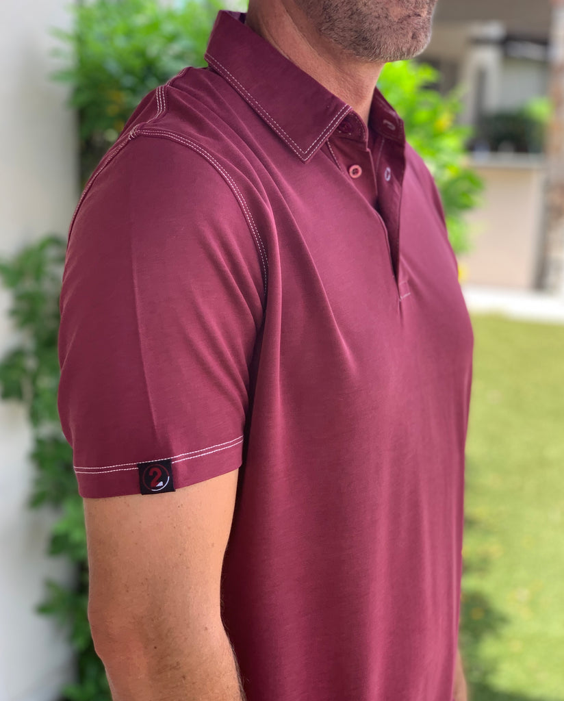 MODAL POLOS-2 COLORS AVAILABLE - 2GG Apparel