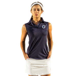 VGA WOMEN'S SLEEVELESS POLO - 2GG Apparel