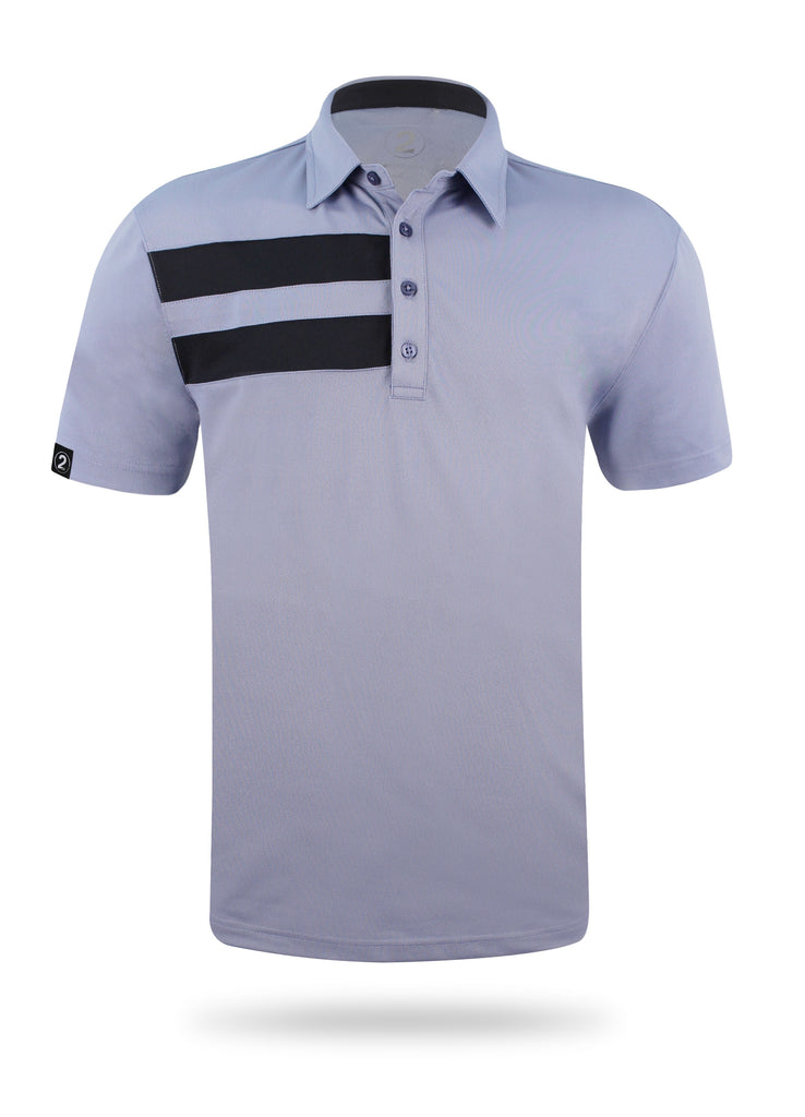 FLAGSHIP POLO-GRAY - 2GG Apparel