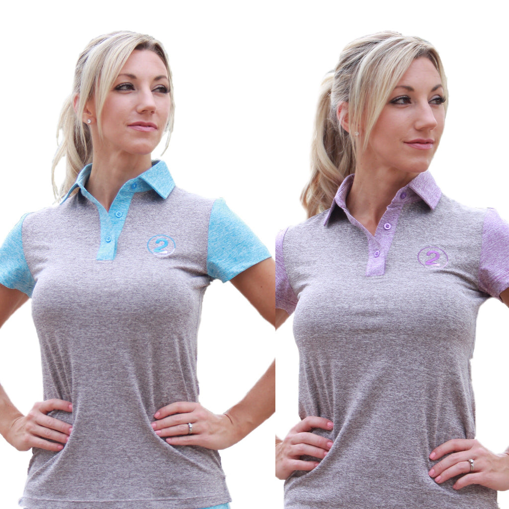 HEATHERED POLO-2 Available Colors - 2GG Apparel