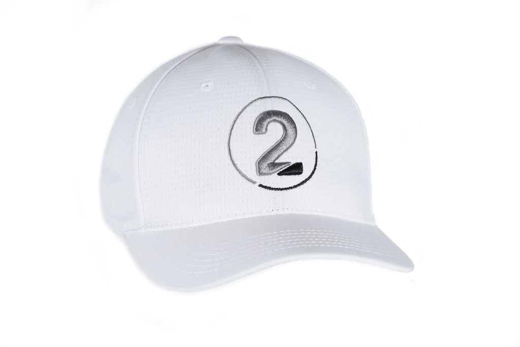 White 3D LOGO HAT - 2GG Apparel