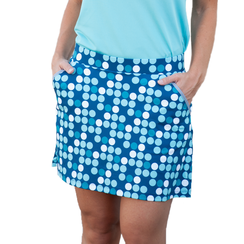DRIVERS & DOTS SKORT - 2GG Apparel