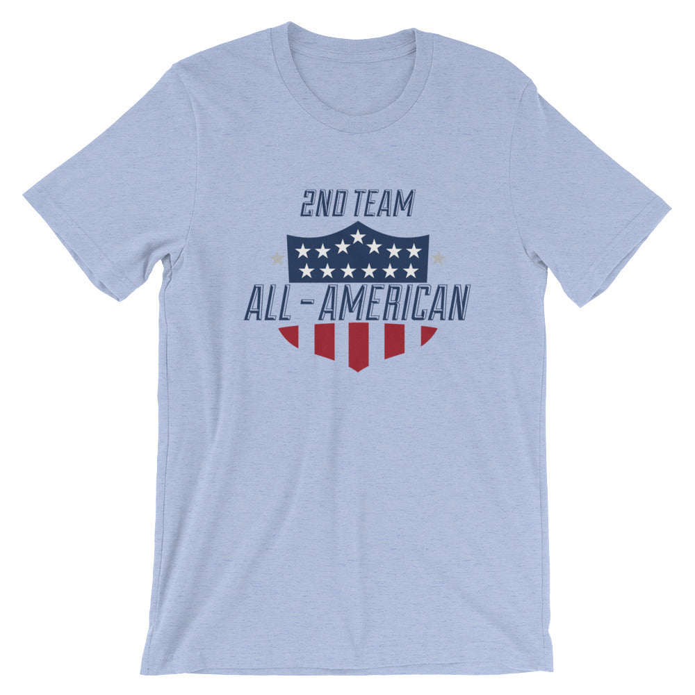 2nd Team All-American Tee - 2GG Apparel