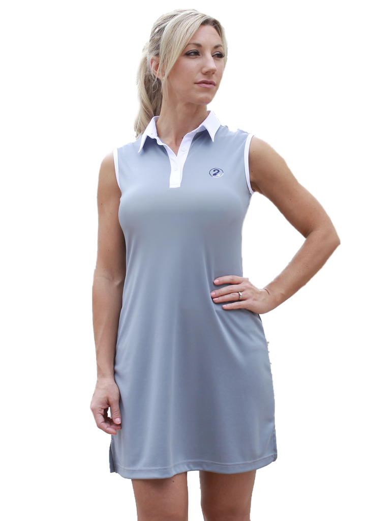 PERFORMANCE DRESS - GRAY - 2GG Apparel