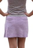 HEATHERED SKORT-2 Available Colors - 2GG Apparel