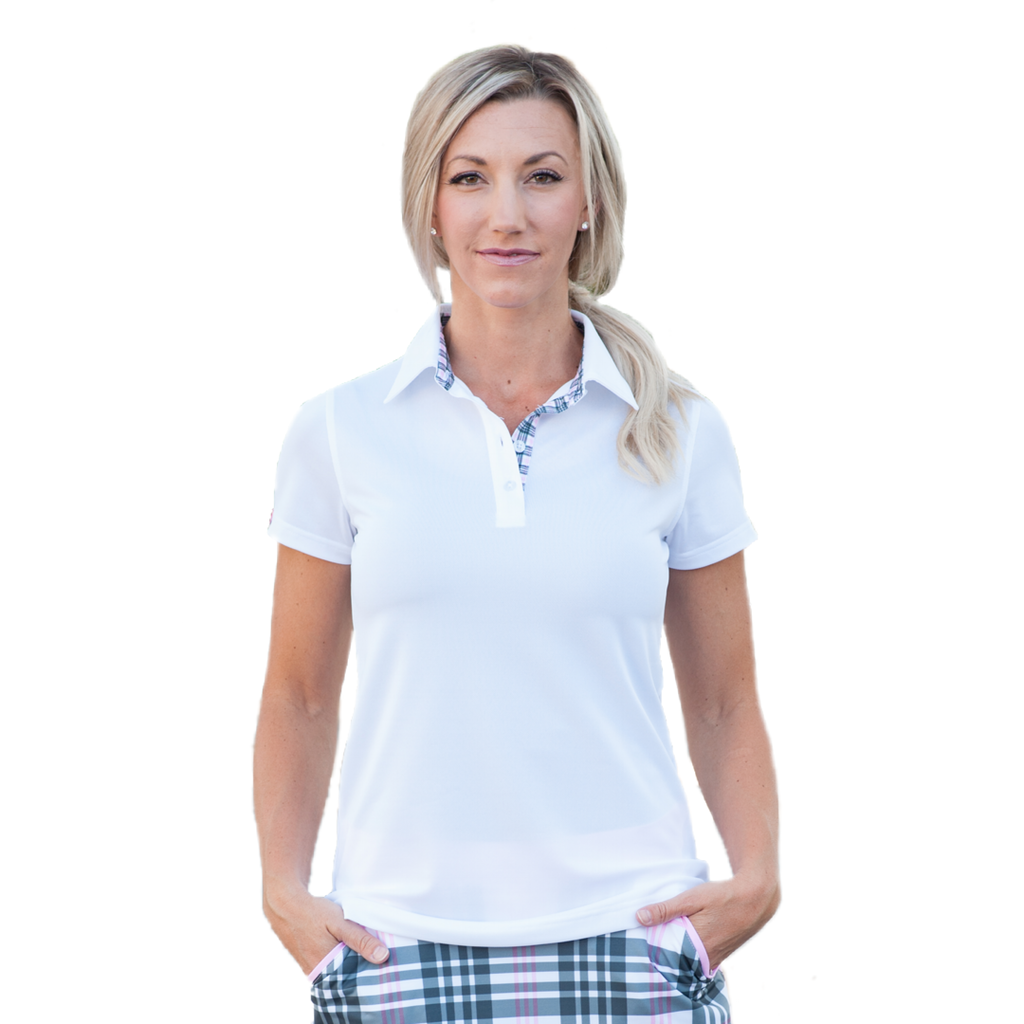 SOLID AND PLAID POLO - 3 Available Colors - 2GG Apparel