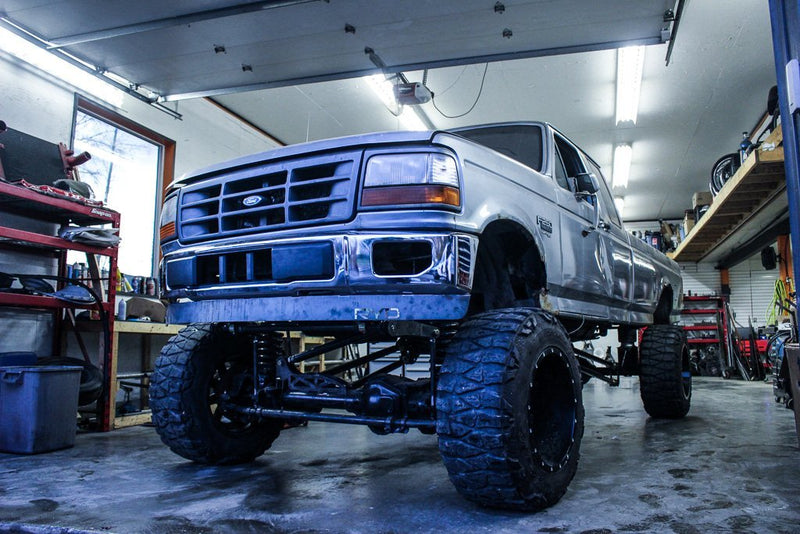 Ford OBS F150 Bumper Conversion -  Ford OBS (1992 - 1996) - RYD Motorsports