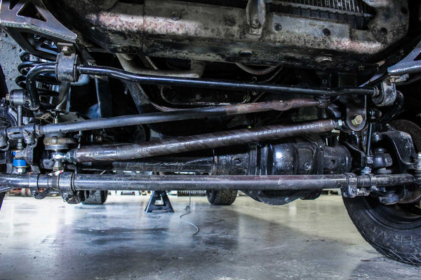 "Ford OBS 0""-3"" Adjustable Trac Bar (05+ Superduty Swap) -  Ford OBS (1992 - 1996) - RYD Motorsports"