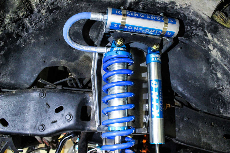 Ford OBS Dual Shock Coilover Buckets (05+ Superduty Swap) -  Ford OBS (1992 - 1996) - RYD Motorsports