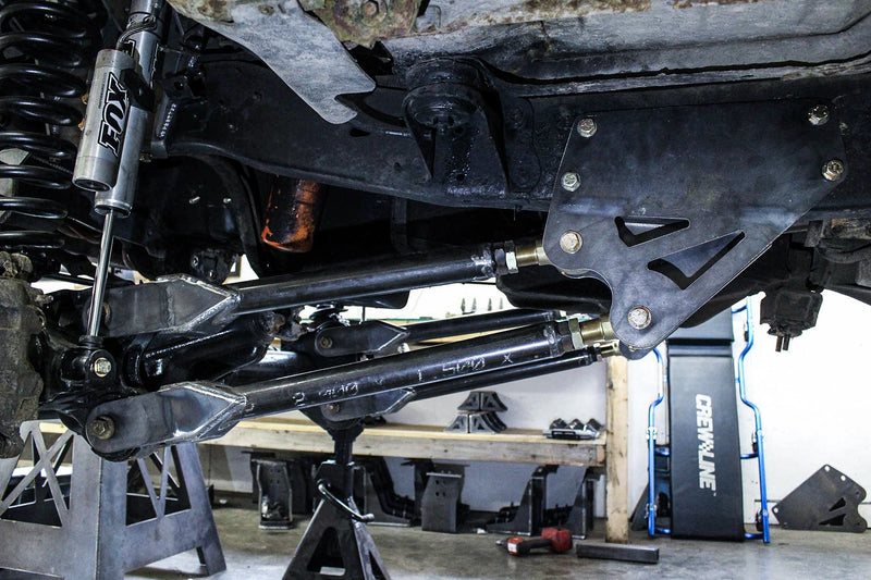 "Ford OBS 0""-4"" Short Arm 4 Link (05+ Superduty Swap) -  Ford OBS (1992 - 1996) - RYD Motorsports"