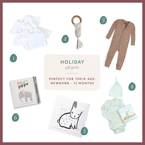 Holiday Gift Guide: Newborn to 12 months