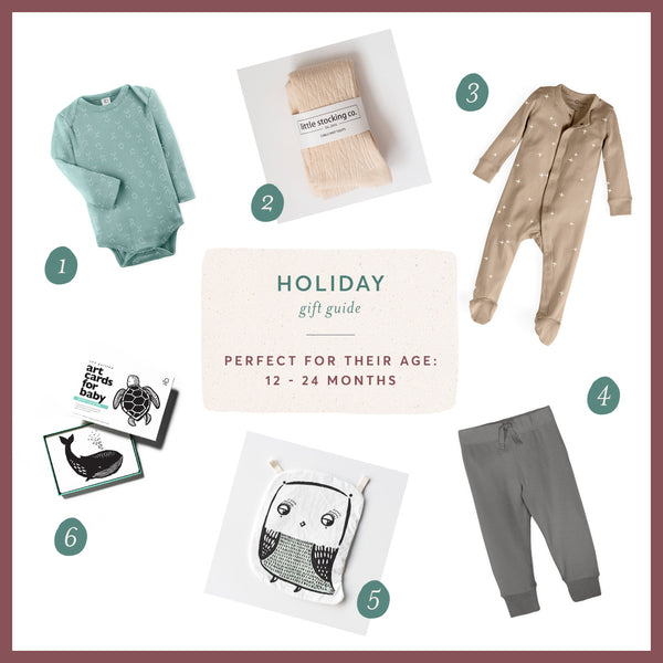Holiday Gift Guide: 12 months - 24 months