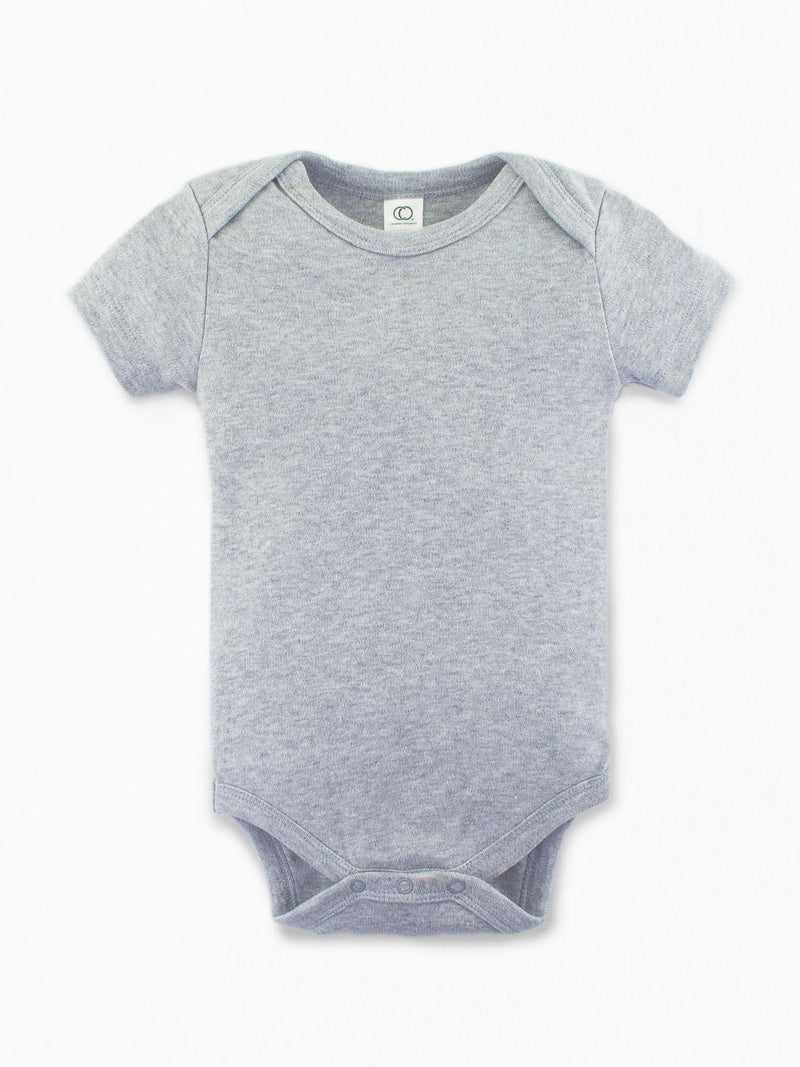 Classic Bodysuit - Short Sleeve - Baby : Bodysuits : Short Sleeves - Colored Organics
