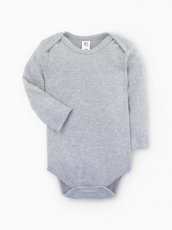 Classic Bodysuit - Long Sleeve - Baby : Bodysuits : Long Sleeves - Colored Organics