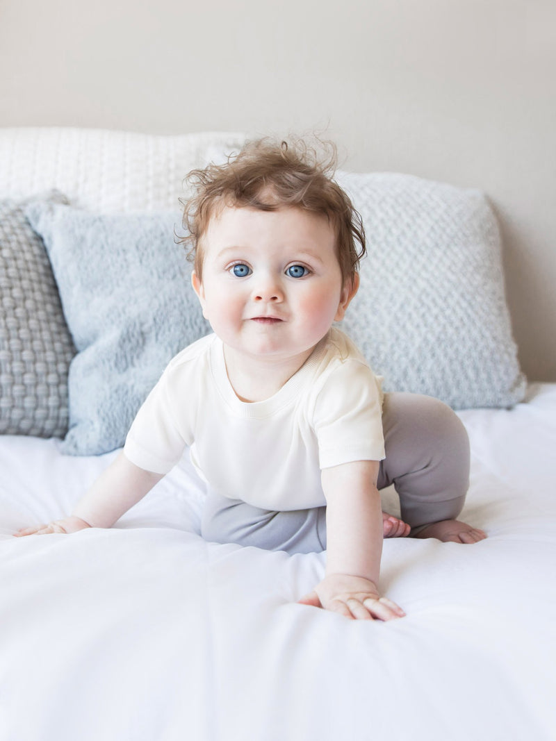 Classic Crew Neck Tee - Baby-Kids : Tops : Short Sleeves - Colored Organics