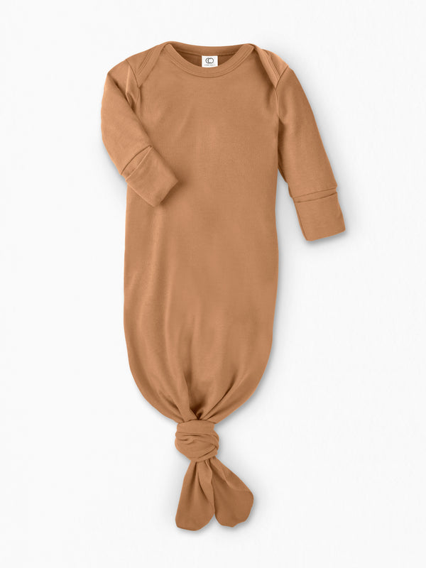 Infant Gown - Baby : Gown : Long Sleeve - Colored Organics