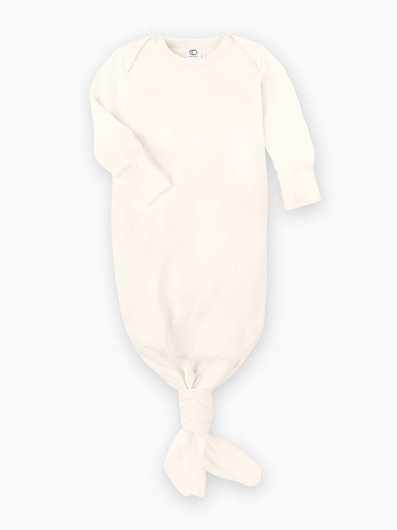Infant Gown - Baby : Gowns : Long Sleeves - Colored Organics