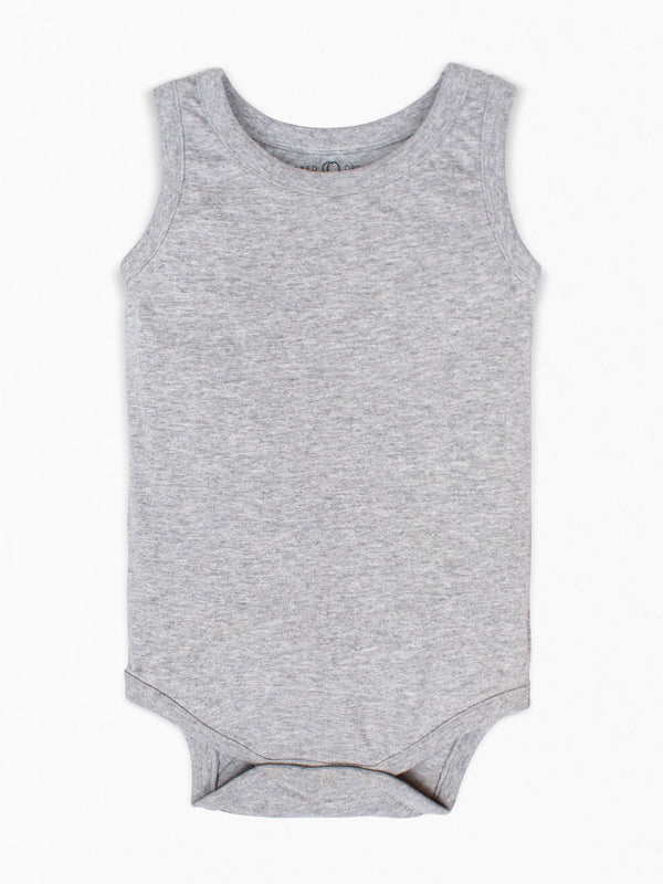 Boulder Tank Bodysuit - Baby : Bodysuits : Tanks - Colored Organics