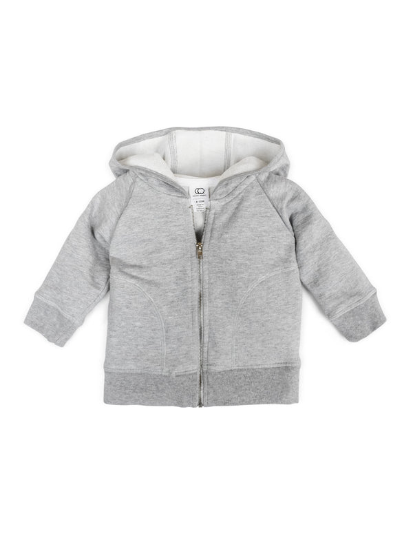 Max Zip Up Hoodie - Baby-Kids : Tops : Long Sleeves - Colored Organics