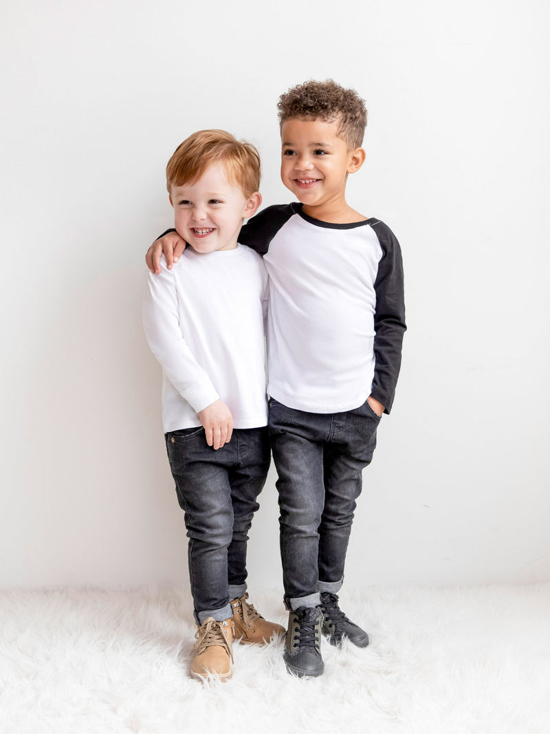 Classic Long Sleeve Crew - Baby-Kids : Tops : Long Sleeves - Colored Organics