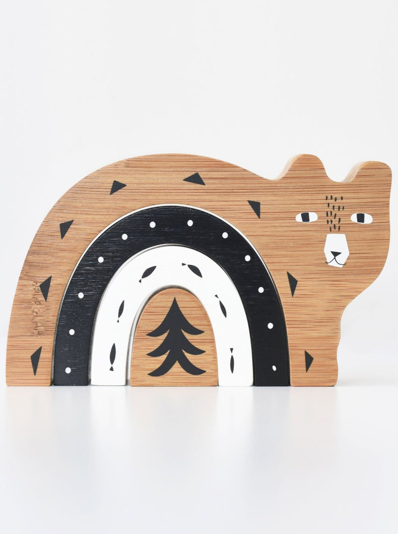 Brands We ♥︎ | Bamboo Nesting Toy