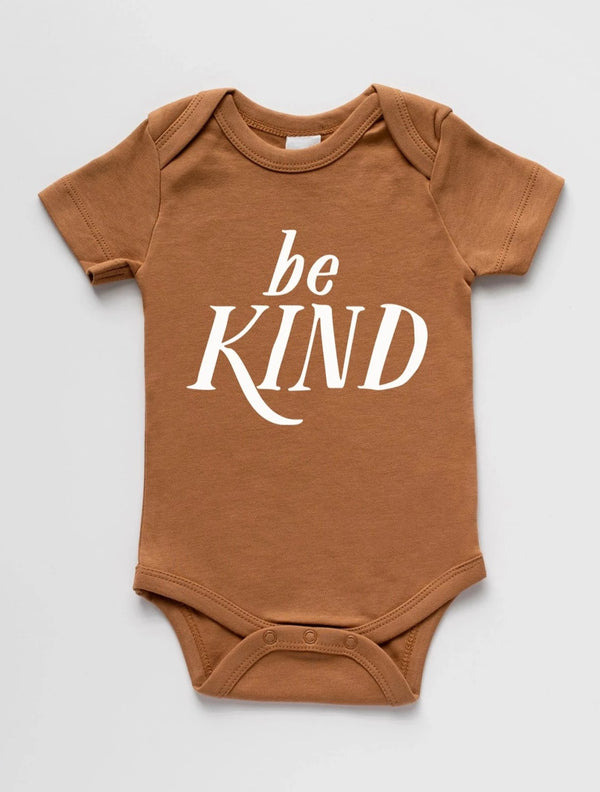 Brands We ♥︎ | Be Kind Short Sleeve Bodysuit