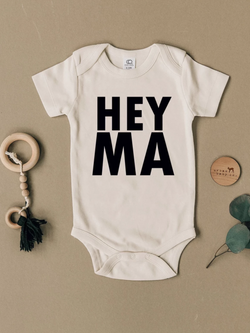 Brands We ♥︎ | Hey Ma Short Sleeve Bodysuit