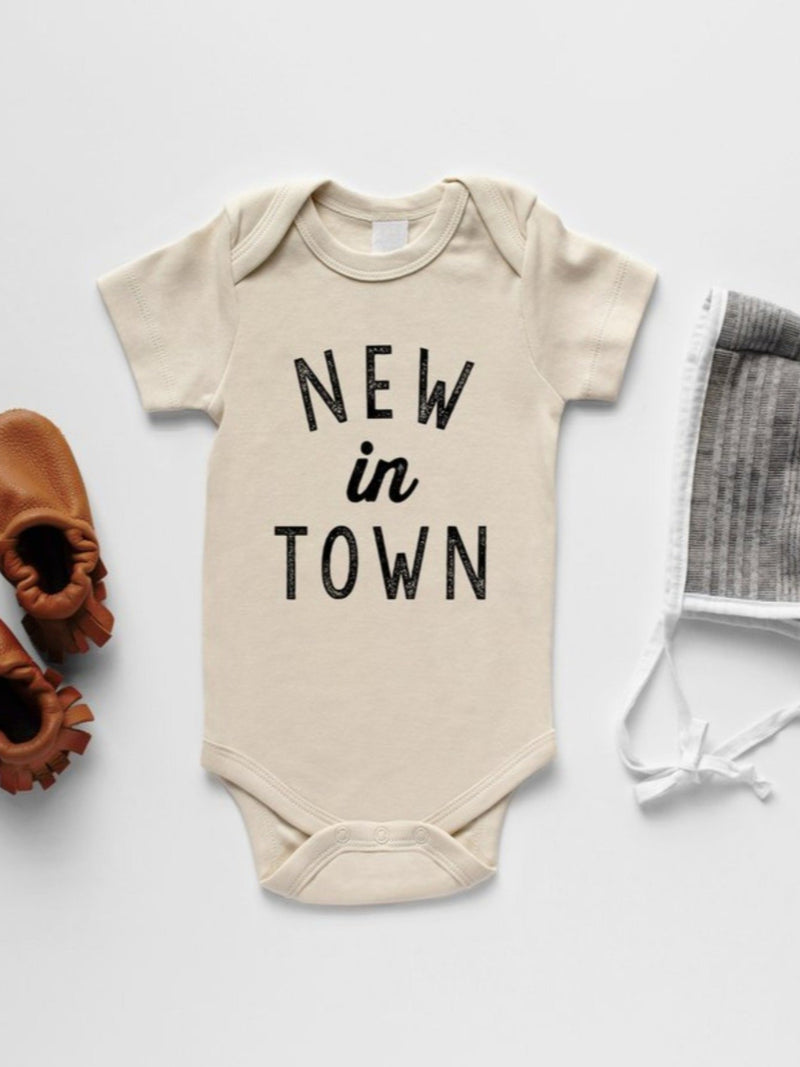 New in Town Short Sleeve Bodysuit